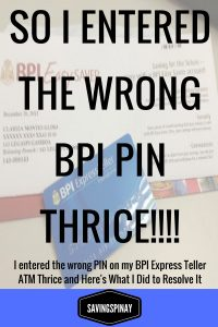 BPI Pin Thrice solution