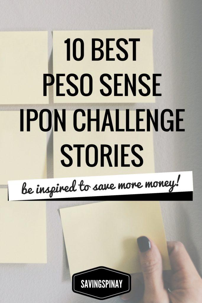 Best Peso Sense Ipon Challenge Stories