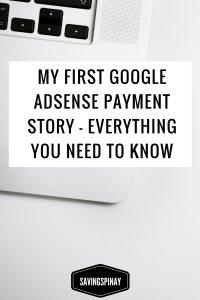 first-google-adsense-payment-story