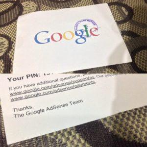 Google Adsense Pin