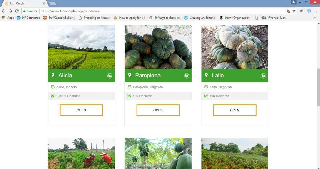 FarmOn Open Farms