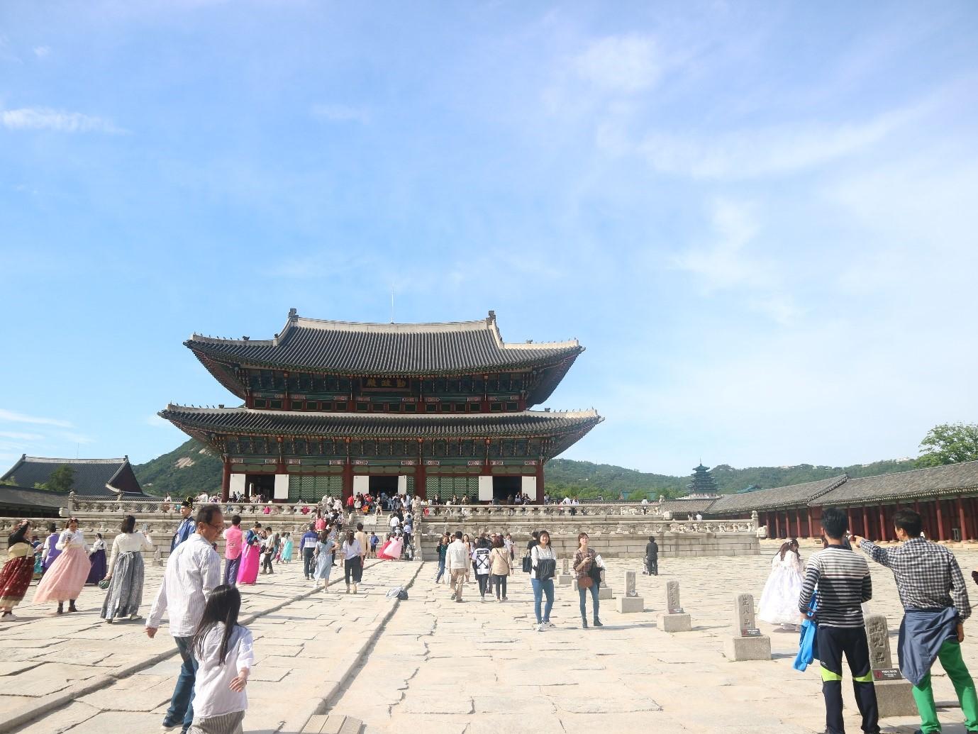 Gyeongbokgung Palace Crowd