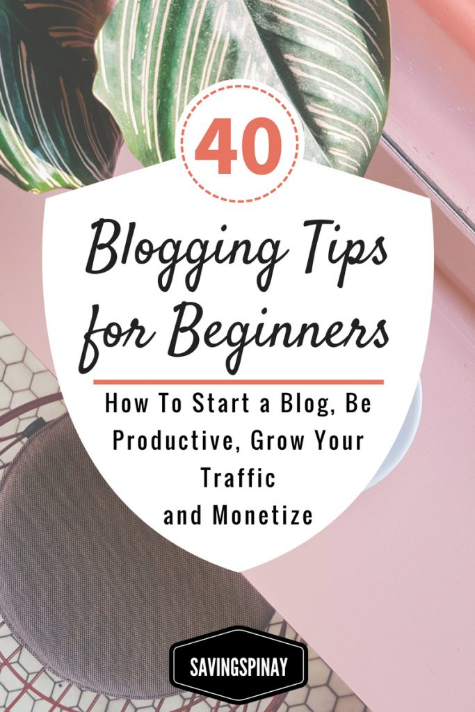 more blogging tips for beginners