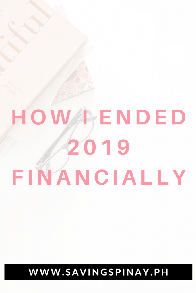 2019-Finances
